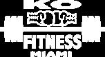 KO Fitness Miami Logo